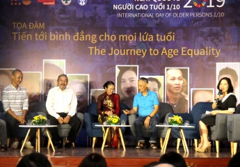 "Inter-generational discussion on ""The Journey to Age Equality"" on the International Day of Older Persons"