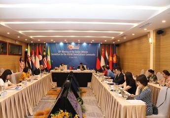 Hội nghị trực tuyến quan chức cấp cao phụ trách Cộng đồng Văn hóa – Xã hội ASEAN