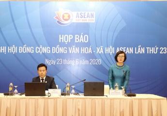 Họp báo về Hội nghị Hội đồng Cộng đồng văn hóa - xã hội ASEAN lần thứ 23