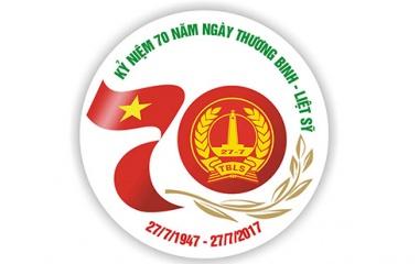 Xin ý kiến về logo kỷ niệm 70 năm Ngày Thương binh - Liệt sỹ
