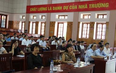 Đại học Kinh tế quốc dân đào tạo nguồn nhân lực chất lượng cao cho Cao Bằng