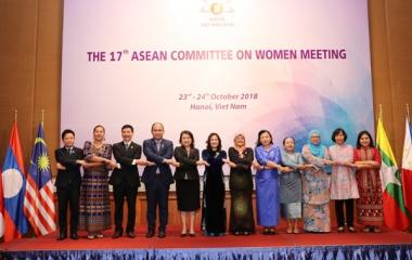 Việt Nam đảm nhận vai trò Chủ tịch Ủy ban Phụ nữ ASEAN