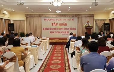 Bộ Lao động – Thương binh và Xã hội: Hội nghị tập huấn quản lý, sử dụng tài sản công