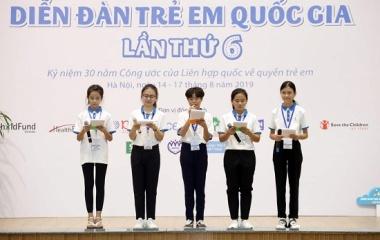 Chính thức khai mạc Diễn đàn trẻ em quốc gia lần thứ 6