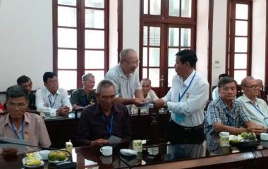 Đoàn đại biểu người có công tỉnh Hậu Giang thăm Bộ Lao động-Thương binh và Xã hội