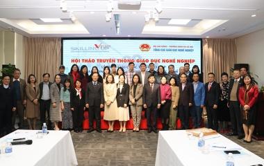 Hội thảo truyền thông về giáo dục nghề nghiệp giai đoạn 2021 – 2025