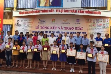 Tổng kết và trao giải cuộc thi thiếu nhi Việt Nam làm theo Di chúc Bác Hồ