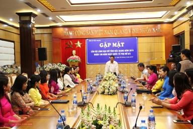 Bắc Giang: Phát huy vai trò, vị trí của phụ nữ trên mọi lĩnh vực