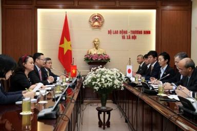 Tăng cường hợp tác về lao động giữa tỉnh Shiga (Nhật Bản) và Việt Nam