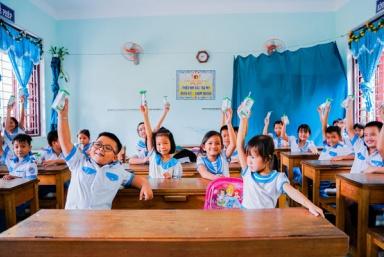 33.000 trẻ em miền núi tỉnh Quảng Nam được uống sữa miễn phí nhờ sữa học đường