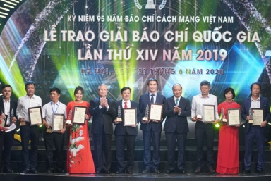 Trao giải Báo chí quốc gia 2019 cho 103 tác phẩm xuất sắc