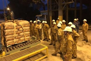 """Tổng công ty Xi măng Việt Nam: Hướng đến mục tiêu """"Không có tai nạn lao động, bệnh nghề nghiệp và cháy, nổ tại nơi sản xuất"""""""