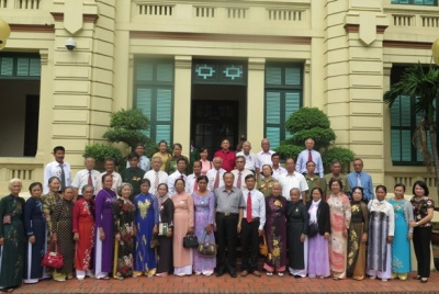 Deputy Minister Huynh Van Ti welcomed the delegation of people with meritorious services from Ba Ria – Vung Tau province