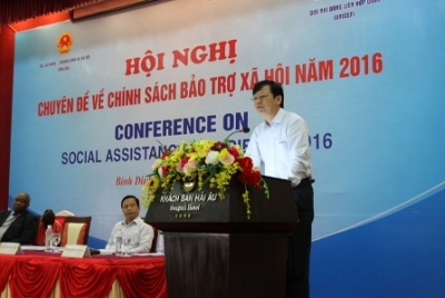 Binh Dinh province: The conference about social protection policies in 2016