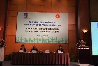 """Tọa đàm về Bình đẳng giới """"Trao quyền kinh tế cho phụ nữ trong bối cảnh thế giới thay đổi về việc làm''"""