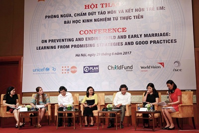 11% of women in Vietnam are married before legal age