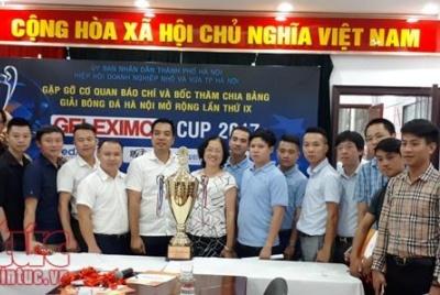 Giải bóng đá Hà Nội mở rộng lần thứ IX – Geleximco Cup 2017