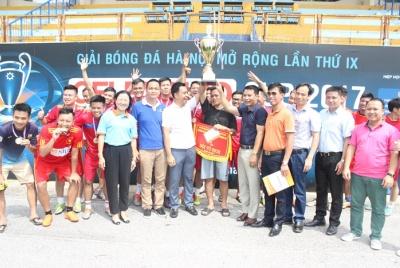 Trao giải Bóng đá Hà Nội mở rộng lần thứ IX – Geleximco Cup 2017