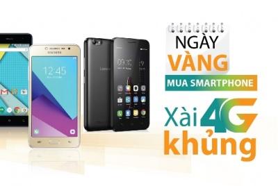 Mua smartphone Viettel, xài 4G khủng vào ngày vàng giá sốc