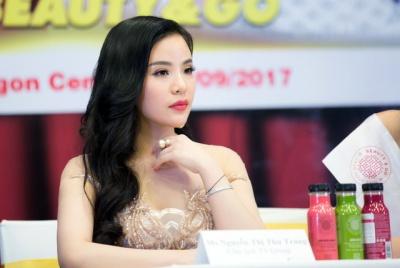 Mrs. Nguyễn Thu Trang- Chủ tịch TS Group đại diện Việt Nam tham gia Chương trình bình chọn Hoa hậu quý bà Châu Á 2017