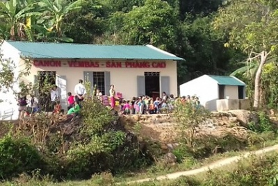 Canon hỗ trợ nâng cấp điểm Trường Mầm non Sàn Phàng Cao – Trường mầm non Khun Há