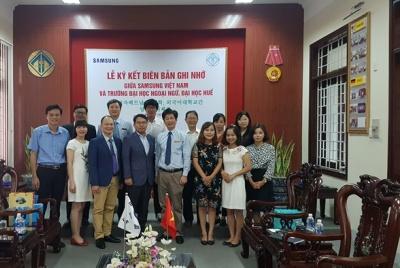 Samsung Việt Nam hỗ trợ gần 6 tỷ đồng phát triển nguồn nhân lực tiếng Hàn tại Việt Nam