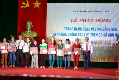 Phú Yên phát động Tháng hành động vì bình đẳng giới và phòng chống bạo lực trên cơ sở giới năm 2017