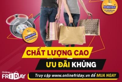 Thương hiệu lớn mang 'sản phẩm đồng hành' đến với Online Friday