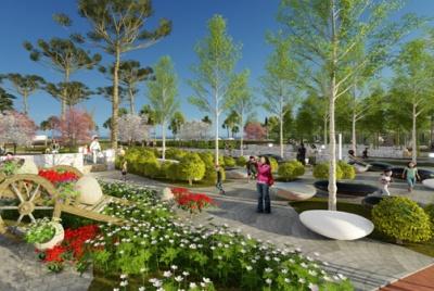Hồng Hà Eco City – Công viên đô thị đầu tiên tại Hà Nội