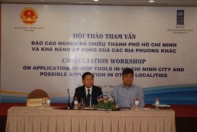 Chương trình nghèo đa chiều TPHCM và khả năng áp dụng của các địa phương khác