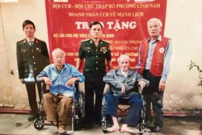 Nghĩa tình của một doanh nhân cựu chiến binh Thủ Đô
