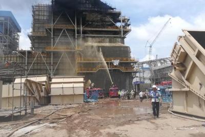 Sự cố cháy tại Công trường Dự án Nhà máy nhiệt điện Duyên Hải 3 mở rộng