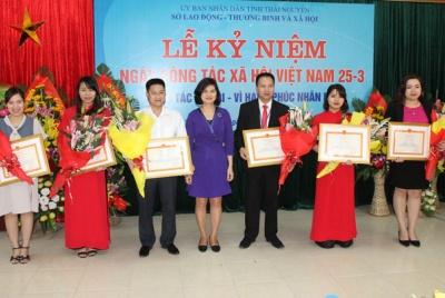 Thái Nguyên: Kỷ niệm ngày Công tác xã hội Việt Nam