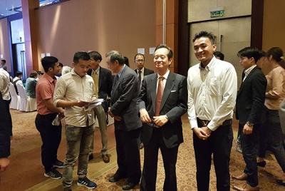 400 cựu thực tập sinh được Nghiệp đoàn Kanto giới thiệu việc cho các doanh nghiệp Nhật Bản tại Việt Nam
