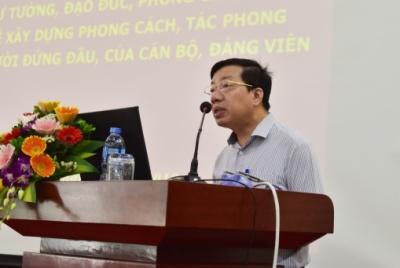 Đảng ủy Bộ Lao động – Thương binh và Xã hội tổ chức Hội nghị học tập tư tưởng, đạo đức, phong cách Hồ Chí Minh