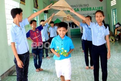 Bình Định: Trẻ em khuyết tật háo hức trước ngày hội riêng