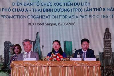 Diễn đàn Tổ chức xúc tiến du lịch các thành phố châu Á – Thái Bình Dương (TPO) lần thứ 8 năm 2018 lần đầu tiên được tổ chức tại Việt Nam