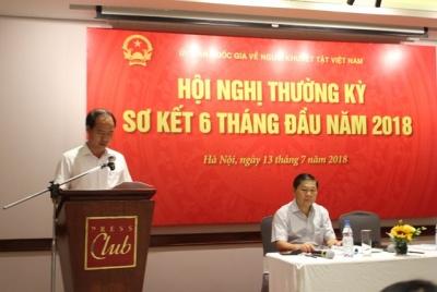 Ủy ban Quốc gia về người khuyết tật Việt Nam sơ kết hoạt động 6 tháng đầu năm 2018