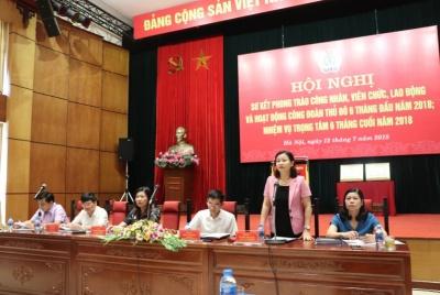 Công đoàn Thủ đô phát huy vai trò bảo vệ quyền và lợi ích hợp pháp của người lao động