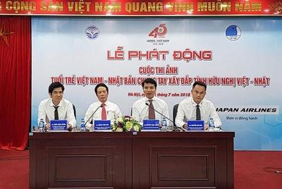 Phát động cuộc thi ảnh Chung tay xây đắp tình hữu nghị Việt-Nhật