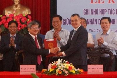 Tỉnh Phú Yên và FPT ký kết ghi nhớ hợp tác phát triển kinh tế số