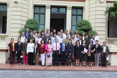 Đại biểu Hội tù yêu nước tỉnh Quảng Ngãi thăm Bộ Lao động-Thương binh và Xã hội