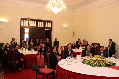Bộ trưởng Đào Ngọc Dung gặp mặt các đồng chí nguyên lãnh đạo Bộ Lao động - TBXH