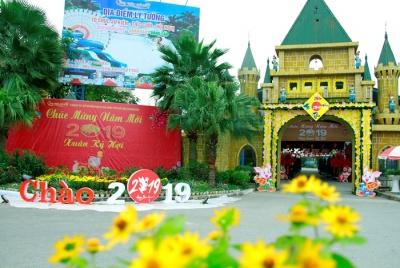 """Công viên Hồ Tây """"Chào Xuân Kỷ Hợi 2019"""""""