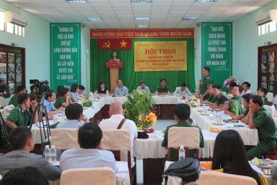 Hội thảo báo chí về công tác cai nghiện ma túy trong tình hình mới