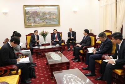 Bộ trưởng Đào Ngọc Dung: Mong muốn sớm ký Bản ghi nhớ hợp tác về lao động kỹ năng đặc định với Nhật Bản