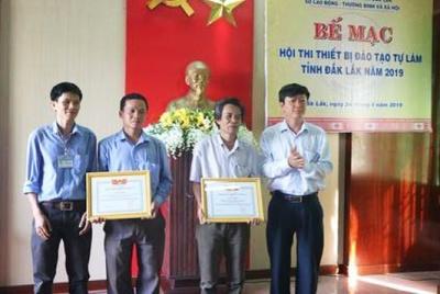 Bế mạc Hội thi thiết bị đào tạo tự làm tỉnh Đắk Lắk năm 2019