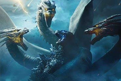 Dàn siêu quái vật hội tụ trong Godzilla II: King of The Monsters