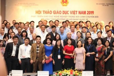 Giáo dục nghề nghiệp Việt Nam cần đổi mới mạnh mẽ trong bối cảnh toàn cầu hóa và hội nhập quốc tế