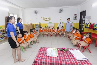 TPHCM phối hợp nhịn nhàng trong công tác triển khai sữa học đường